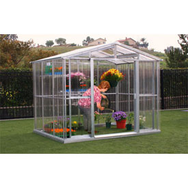 DuraMax Stronglasting Greenhouse 8'x6' by