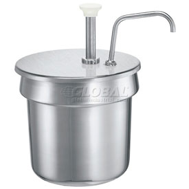Server Stainless Steel Pump For A 7 Qt Vegetable inset