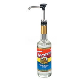 Server Pump For Syrup Jar, 28-MM Opening, Dispenses Thin Condiments