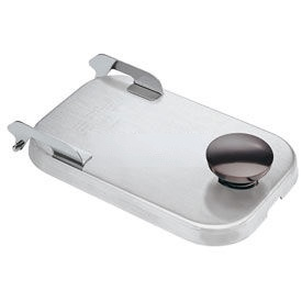 Server Stainless Steel Hinged Lid, For Use w/ Plastic Fountain Jars