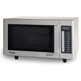 Amana RMS10TS Microwave, Commercial, 0.8 Cu. Ft., 1000 Watt, Touch Controls, S/S... by