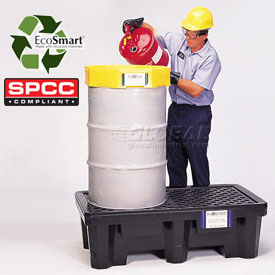 UltraTech Ultra-Spill® Economy Containment Pallet 2504 P2 2-Drum with No Drain