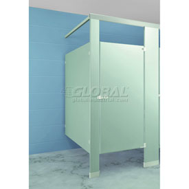 "Stainless Steel Complete In-Corner ADA Approved Compartment 60""w x 61-1/4""d"