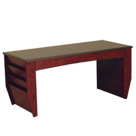 Coffee Table With Magazine Rack Mahogany
