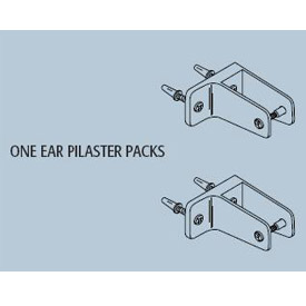 Pilaster To Wall Bracket Kit for Stainless Steel Partition