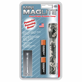Maglite M2AMR6 2 Cell AA Mini Flashlight Camo by