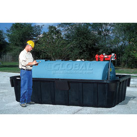 "UltraTech Ultra-1000 Containment Sump® 2831 - 1100 Gallon Capacity with 3/4"" Drain"
