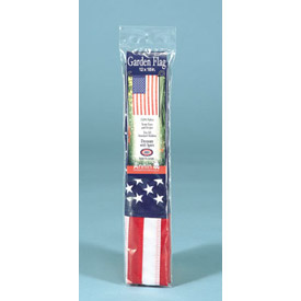"12 X 18"" Nylon Us Garden Flag - Pkg Qty 6"