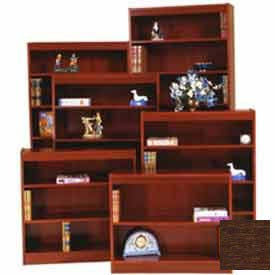 "Excalibur Bookcase 60"" H, Walnut"