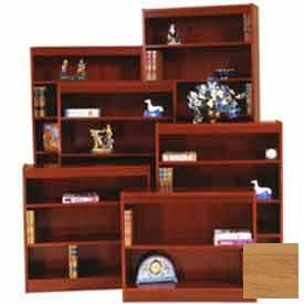 "Excalibur Bookcase 60"" H, Natural Oak"