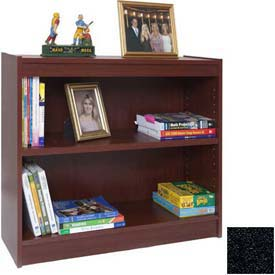 "36"" Laminate Bookcase, Charcoal Gray"