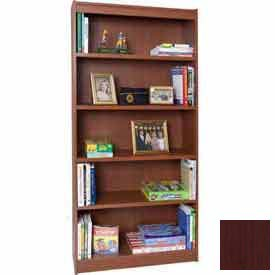 "84"" Laminate Bookcase, Mahogany"