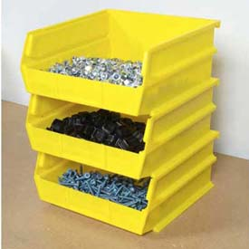 "Storability Bins 10-3/8""D x 10""W x 5""H Yellow (6 pc)"