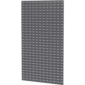 Akro-Mils Steel Louvered Panel 30161 - 36 x 61 Grey