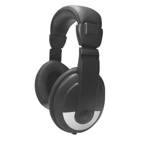 Stereo Headphones with Padded Headband