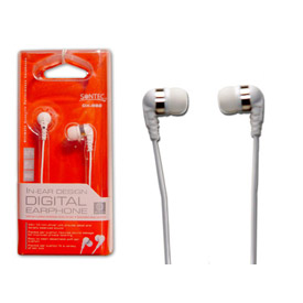 Buy Digital Earbuds with 4' Cord and 3.5mm Stereo Plug, White