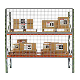 10' x 5' Wire Mesh Pallet Rack Guard