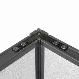 "Interion™ 90 Degree Corner Connector Kit For 46"" H Panel"