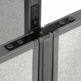 "Interion™ Low-High Three Way Kit For Two 46"" Low Panel"