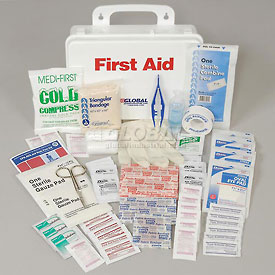 First Aid Kit - 25 Person, Plastic Case