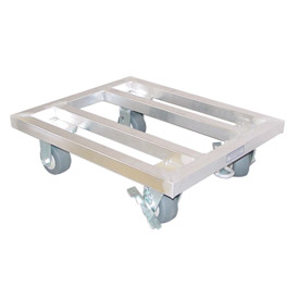 "PVI, MDR2424, Aluminum Mobile Dunnage Rack 24""W x 24""D x 8""H"