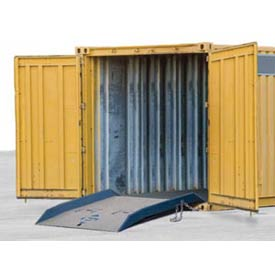 Bluff 20CR7284 Forklift Container Ramp 72 x 84 20,000 Lb. Cap. by
