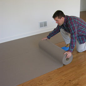 Flooring carpeting floor protection pro tect runner for Wood floor protectors