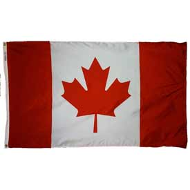 5 x 8 ft Nylon Canada Flag