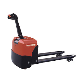 Wesco® Deluxe Self-Propelled Electric Power Pallet Jack Truck 273445 3300 Lb.