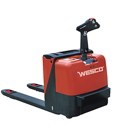 Wesco® Deluxe Self-Propelled Electric Power Pallet Jack Truck 273446 4400 Lb.