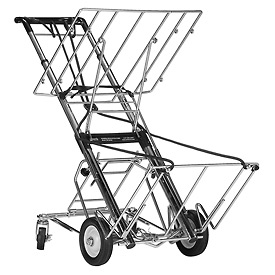 Norris Products 730 Super Tech 4 Wheel Folding Luggage Cargo Cart 400 Lb. Cap.
