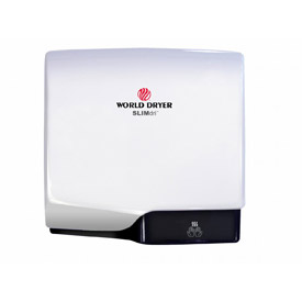 SLIMdri™ Hand Dryer - White Aluminum - L-974