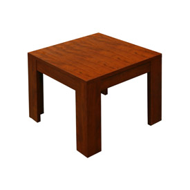 "Boss Reception End Table - 22"" - Cherry"
