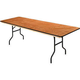 "Folding Banquet Table - 96"" x 30"" - Plywood"