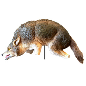 Bird-X 3-D Coyote Replica Pest Repeller - COYOTE-3D
