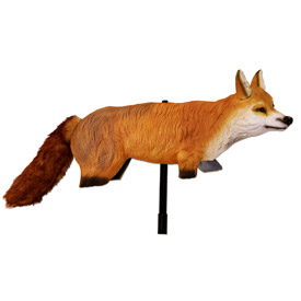 Bird-X 3-D Fox Replica Pest Repeller - FOX-3D