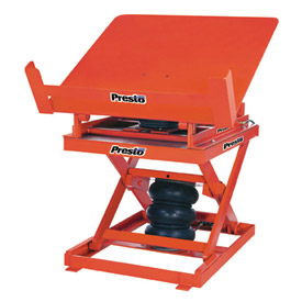 PrestoLifts™ Pneumatic Lift & Tilt Table AXT10-4848 48 x 48 1000 Lb. Capacity