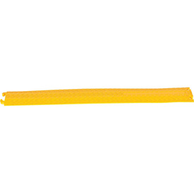 Molded Rubber Hose & Cable Ramp and Protector, Yellow