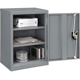 Global™ Wall Storage Cabinet Assembled 18x12x26 Gray