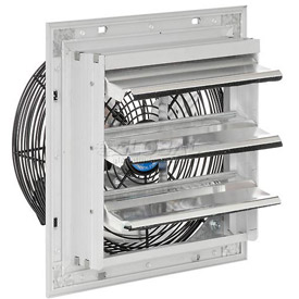 "Exhaust Ventilation Fan With Shutter 10"" 3-Speed With Hardware"