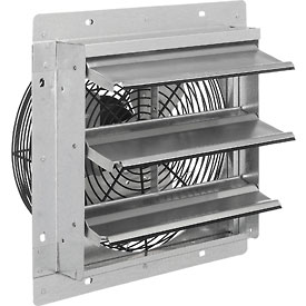 "Exhaust Ventilation Fan With Shutter 12"" 3-Speed With Hardware"