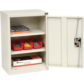 "Global™ Wall Storage Cabinet Assembled 18""W x 12""D x 26""H White"