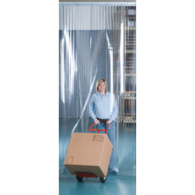 "Aleco® Visi-Guard Strip Door 455993 6' x 7' with 8"" Strips"