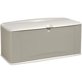 Rubbermaid 5E39 Extra Large Deck Box With Seat 16 Cubic Feet