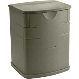 Rubbermaid 3743 Outdoor Mini Deck Box 2.6 Cubic Feet