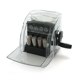 Royal Sovereign® QS-1  1 Row Manual Coin Sorter