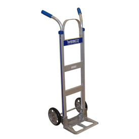Wesco® Cobra-Lite Aluminum Hand Truck 220334 Double Handle MORT