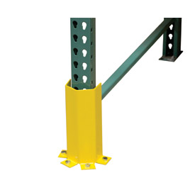 "Pallet Rack - Post Protector 3-Sided, 4-Mount 23"" H"