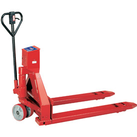 Intercomp® PW800™ Pallet Jack Scale Truck 27 x 48 5000 Lb. Cap.