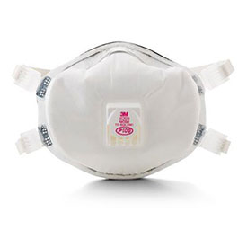 3M 8293 P100 Particulate Respirator, With Cool Flow Valve, 20/Case by